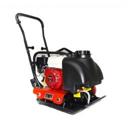 Plancha Vibradora C80T motor Honda con ruedas y tanque de agua
