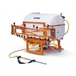 Fumigadora pulverizadora 450L 7.5m para tractor