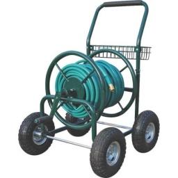 Carro para manguera 4 ruedas