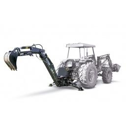 Retroexcavadora para tractor LW8