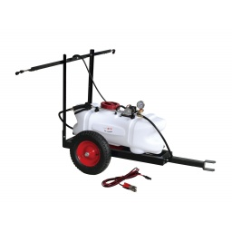 Fumigadora 60L con carro para cuatriciclo o tractor