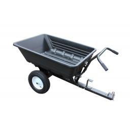 Mini trailer / carretilla para cuatriciclo o tractor. Volcador