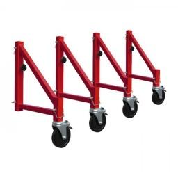 Set de estabilizadores para andamio con ruedas