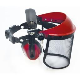 Kit para protección de ojos y oidos forestal