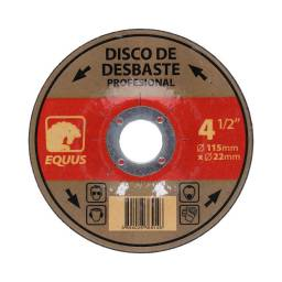 Discos De Desbaste Equus 4 1/2 Caja X 5 Unidades