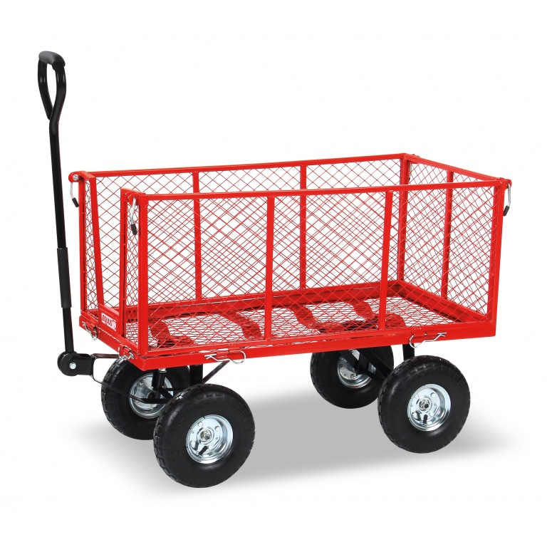 Carro Malla Rojo