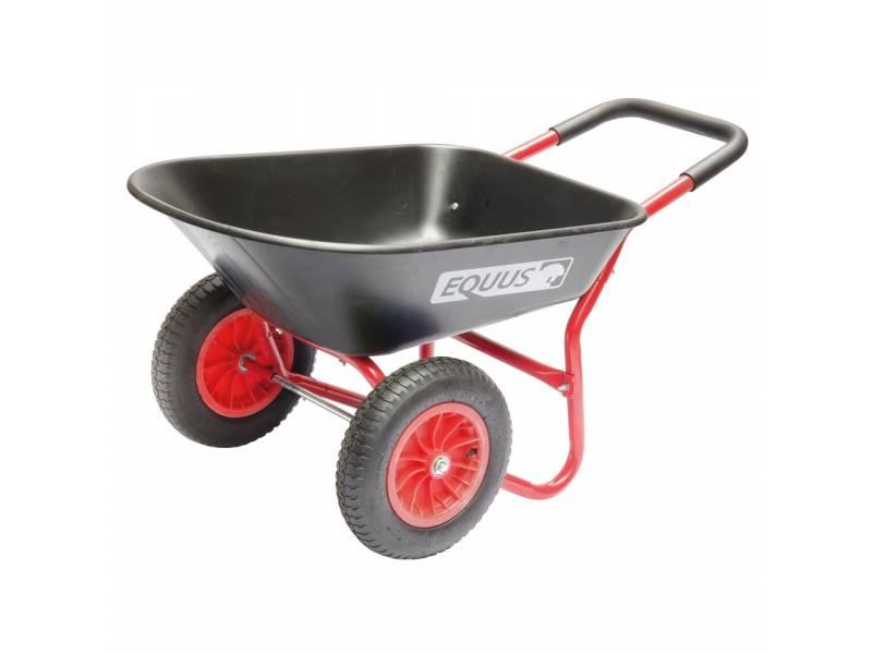 Carretilla Tolva Plastica 80L 2 ruedas