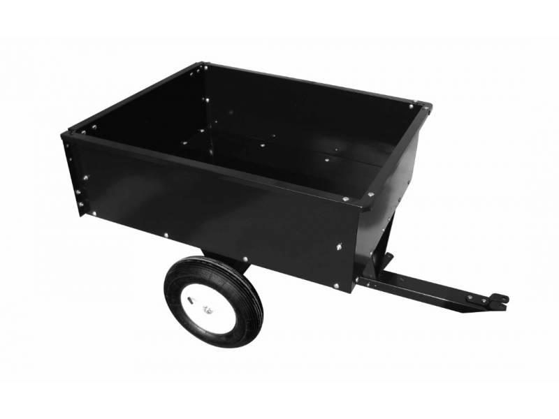 Mini trailer para cuatriciclo o tractor. Volcador