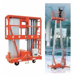 Plataforma de Trabajo en Aluminio Mastil Doble 12m